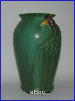 Retired Nightshade Vase by Ephraim Faience Pottery