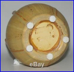 Retired Star Fern Small Vase by Ephraim Faience Pottery