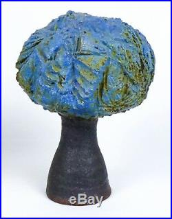 Robert Arneson Stoneware Tree Bud Vase California Funk Pottery