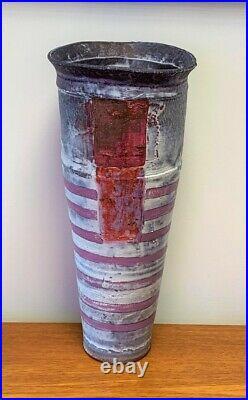 Robin Welch Tall Stoneware Vase