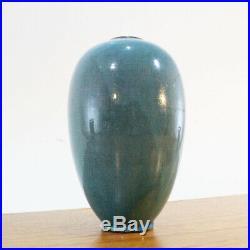 Rolf Weber Studiokeramik Keramik Vase Persisch-blau MID Century Studio Pottery