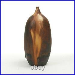 Rose Cabat studio pottery onion skin feelie vase mid century modern ceramics