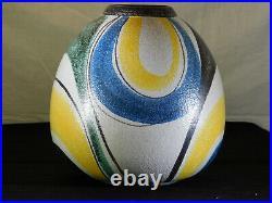 Ruscha Keramik Studio Milano Decor Designed Cilli Worsdorfer c1950's Huge Vase