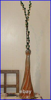 RuthAnne Tudball salt glazed studio pottery vase