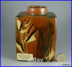 SHEILA FOURNIER Studio Pottery Stoneware Vase C1970s
