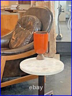 Scandinavian Vtg Mid Century Danish Modern Studio Pottery Vase Denmark Sweden