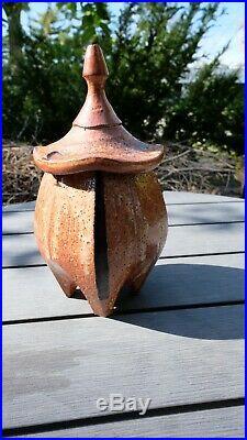 Sequoia Miller Lidded Pot, Mackenzie, Leach, Hamada