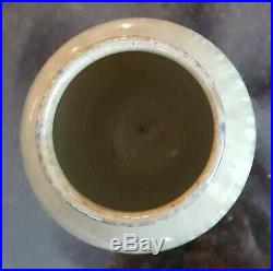 Shearwater Art Pottery Vase. 1930-1940's Drip Glaze