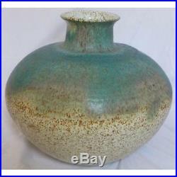 Signed William C. Alexander Mid Century GIANT Studio Pottery Vase