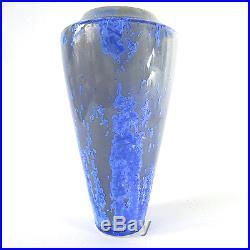 Signierte Studio Keramik Vase Kristall-Glasur Worpswede Art Pottery vintage