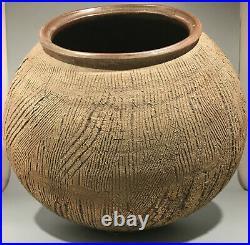 South Korean Studio Pottery Seung-Ho Yang 1980s very large Stoneware Pot