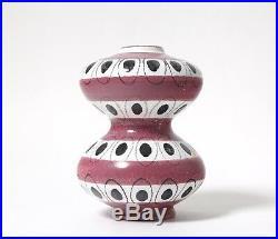 Stig Lindberg Ceramic vase. Sweden, Gustavsbergs studio, mid 20th century