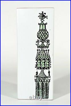 Stig Lindberg Gustavsberg Studio Sweden Ceramics Vase Carnival° Ceramic Vase