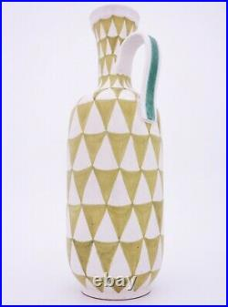 Stig Lindberg Pottery Faience Vase Gustavsberg Studio