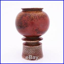 Stig Lindberg Pottery Unique Vase Gustavsberg Studio