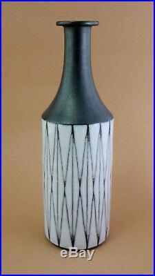 Studio Keramik VASE von Elly & Wilhelm Kuch 1960 mid century modern pottery 25cm