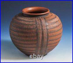 Studio Pottery Bauhaus Era Vase Circa 1920