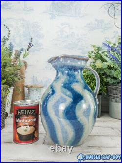 Studio Pottery Jug Vase Large Gorgeous Interior Design
