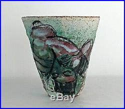 Studiokeramik Vase Roger Herman Los Angeles rare studio pottery