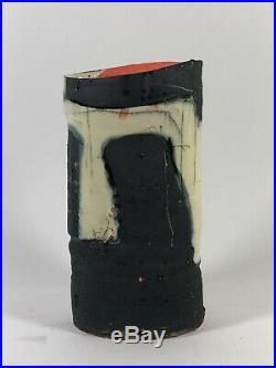 Stunning Barry Stedman Studio Pottery Vase Signed Robin Welch Style