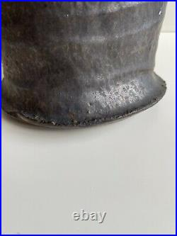 Stunning Colin Pearson Winged Studio Pottery Vase