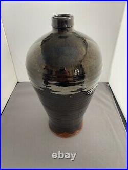 Stunning Rare Large Ursula Mommens 1950s South Heighton Studio Pottery Vase
