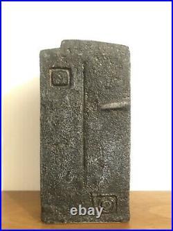 Stunning & Rare Very Early Troika St Ives Face Vase Benny Sirota Studio Pottery