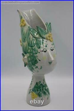 Superb Bjorn Wiinblad Studio Ceramics Woman Figurine Titania Vase V20