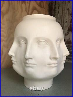 TMS 2005 Dora Maar 8 Multi-Face Vase Bowl sculpture Original white