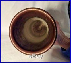 Toini Muona Finland 15 Pottery Vase Scandinavian Mid Century Modern Studio Art