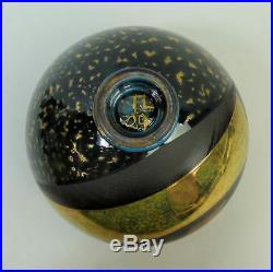 Tony Laverick (born 1961) Studio Art Pottery Metallic Glaze Bowl C. 2009