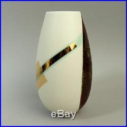 Tony Laverick (born 1961) Studio Art Pottery Metallic Glaze Vase C. 2007