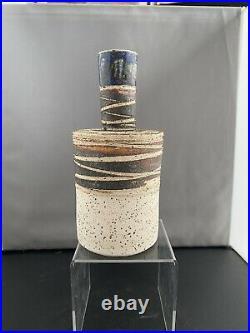 Tue Poulsen Denmark Studio Pottery Bottle Vase