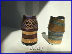 Two beautiful Mary Rich Pottery / Studio Pottery / Ceramics Vase