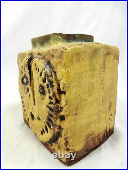 Ungewöhnliche 70´s design H. Schäffenacker Studio Keramik pottery Vase V 1