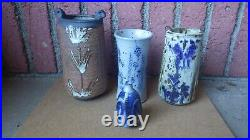 Unusual Vivika & Otto Heino Studio Art Pottery Vase Ojai California