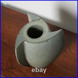 Uwe Lerch Flügelvase Rotor Studiokeramik Modern German Studio Art Pottery Vase