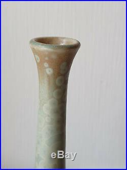 Vase Studiokeramik Wendelin Stahl Kristallglasur studio pottery