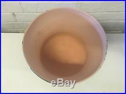 Victoria Crowell Signed Studio Pottery Ceramic Faces Vase