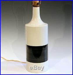 Vintage Arabia Finland Scandinavian Pottery Mid Century MCM Studio Vase Lamp
