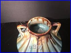 Vintage Arts & Crafts Thulin Belgium Studio Art Pottery Vase