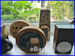 Vintage Collection of Troika Studio Pottery x 7 Pieces