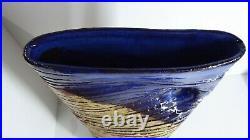 Vintage Dybka Bendigo Studio Art Vase Australian Pottery Ceramic