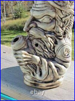 Vintage Jim Rumph Mind Circus Wizard Vase