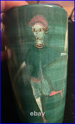 Vintage Polina Pillin Studio Pottery Vase