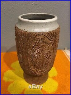 Vintage Robert Maxwell California Pottery Vase Planter Cressey Earthgender Era