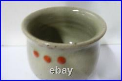 Vintage Shigeo Shiga Vase Pot Australian MID Century Pottery Studio Artist