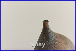 Vintage Small Sculptural Pot by Studio Potter Chris Lucas