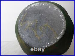 Vintage Studio Stephan Roy Raku Pottery Vase Extra Large