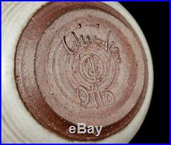 Vintage Vivika Otto Heino Studio Art Pottery Vase Tea Bowl California
